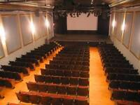 Volunteer at the Dramatic Arts Centre