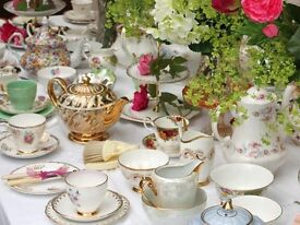 Vintage Fine Bone China Hire for all special occasions