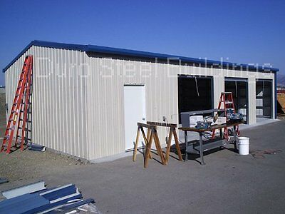 Durobeam Steel 40x80x12 Metal Frame I-beam Building Garage Shop Structure Direct