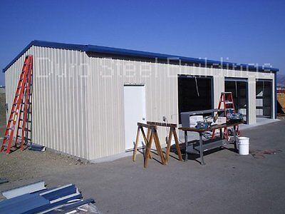 Durobeam Steel 40x50x12 Metal Garage Workshop Diy I-beam Building Kit Direct