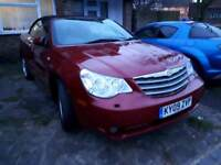 CHRYSLER SEBRING LIMITED CABRIOLET AUTOMATIC