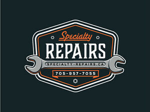 Small Engine Repair - SPECIALTY REPAIRS