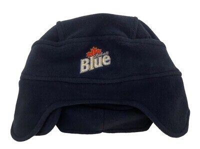 Labatt Blue Old Time Hockey Fleece Winter Hat Toque
