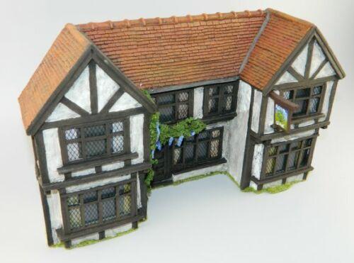 Inn Facade C06 JG Miniatures 1/30th Scale Diorama Accessory Building