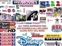 12 Months Gift Warranty Subscription Sat/Cable Openbox Skybox Zgemma F3 F5S V5S V8S Guaranteed