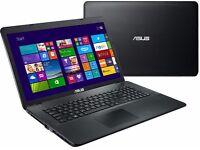 "ASUS X751LD Gaming Laptop,Screen 17.3"" Core i5 ,4GB,1TB(1000GB HDD)GeForce GT820M HD"