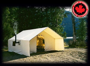 HUNTERS and OTHERS.New Deluxe Wall Tent ..Loaded Options