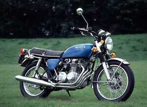 Classic Japanese Motorcycle of the 1970s and 1980s