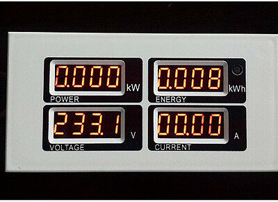 Ac 110v 220v Digital 100a Watt Power Meter Volt Amp Ammeter Voltmeter 80-260v