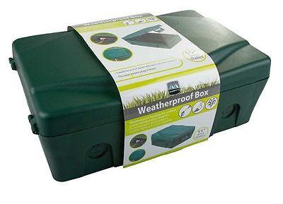 Masterplug Weatherproof Outdoor Electric Socket Junction Box IP54 Garden Power Power Junction Box