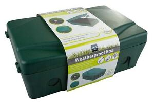 Masterplug IP54 Weatherproof Enclosure Box For Outdoor Electrical Power