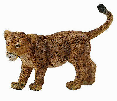 CollectA 88417 African Lion Cub Walking - Realistic Wildlife Model Toy - NIP