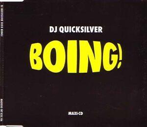 DJ QUICKSILVER - BOING! # MAXI CD # 1996 # - <span itemprop='availableAtOrFrom'>Schwechat, Österreich</span> - DJ QUICKSILVER - BOING! # MAXI CD # 1996 # - Schwechat, Österreich