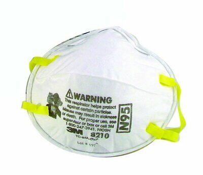 3M 8210 N95 Staubschutz Maske 2er Pack Mundschutz Atemschutz Premium FFP2