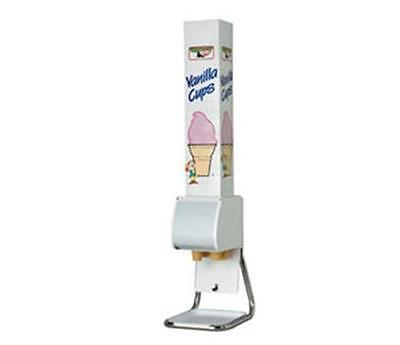 Dispense-rite Bcds-bfl Ice Cream Cone Dispenser Stand W Removable Chrome Legs