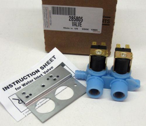 Washing machine valve ebay - Roper washing machine water inlet valve ...