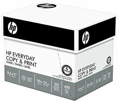 Hp Everyday Copy And Print Paper 8 1 2 X 11 Inch 20lb. 92 Bright 2400 Sheets