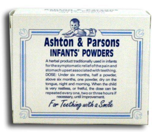 Ashton & Parsons Infant Powders For Teething -20 Sachets (Available Multi-PACK)