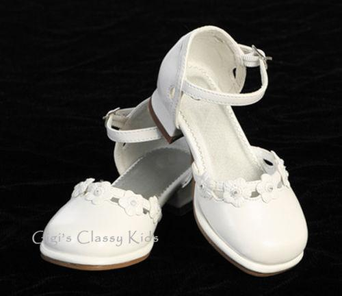 white pageant shoes ebay