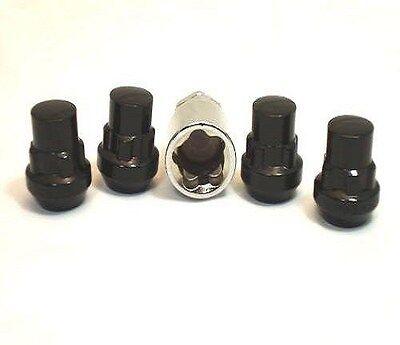 4 Pc BLACK CHEVROLET S10 BLAZER LOCKING LUG NUTS CUSTOM WHEEL LOCK # AP-20705BK comprar usado  Enviando para Brazil