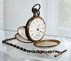 Half Hunter Lever Antique Pocket Watches 18 Pocket Watch