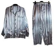 Herren Satin Schlafanzug