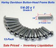 Chrome Button Head Bolts