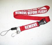 Remove Before Flight Lanyard