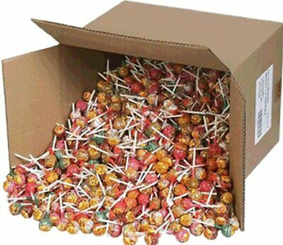 NEW Chupa Chups 100 Lollipops Bulk Lollies Jar Assorted Flavors FREE POSTAGE