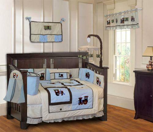 Train Crib Bedding Ebay