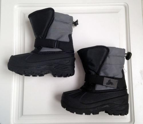 toddler boys snow boots size 7 ebay