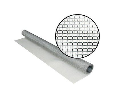"""Phifer Wire 3001752 Bright Aluminum Insect Screen, 36-Inch x 84"""" 47888115488"""