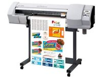 Quick sale versacamm sp300 print and cut sign vinyl t shirt machine