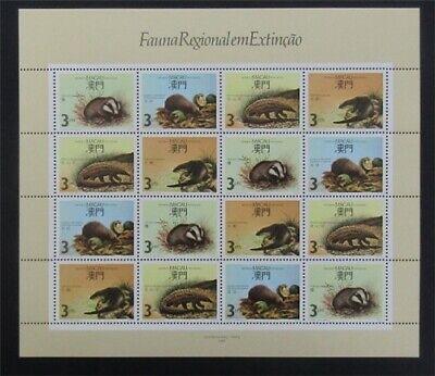 nystamps Macao Stamp # 564a Mint OG NH $110   L23y3350