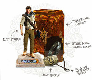 Uncharted 3 Collector's Edition (PS3) No Game