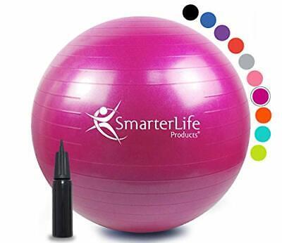 Exercise Ball Yoga Balance Stability - SmarterLife Anti Burs