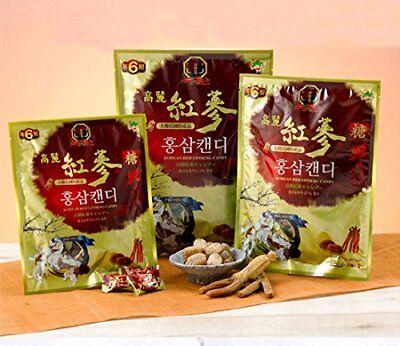 Korean Red Ginseng Candy 450g / Korea Hongsam Candy / Herbs / Made in Korea
