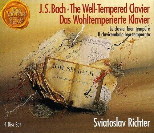 Sviatoslav Richter, - Well-Tempered Clavier (Complete) [New CD]