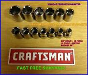 Craftsman Metric Sockets