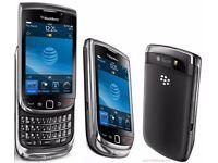 BlackBerry Torch 9800 - 4GB - (Unlocked) phone (QWERTY) GRADE B