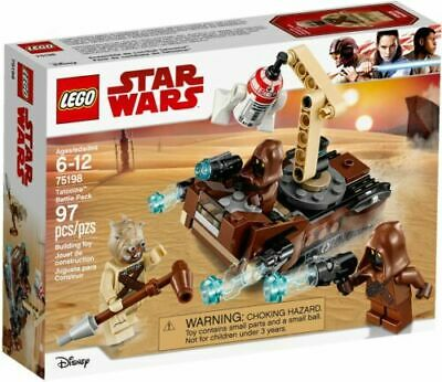 STAR WARS LEGO 75198 TATOOINE BATTLE PACK BRAND NEW SEALED