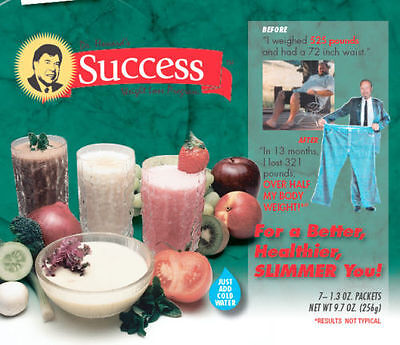Cambridge Diet Mfr of Success Lactose-Free Chocolate Weight Loss Shakes - 7 serv