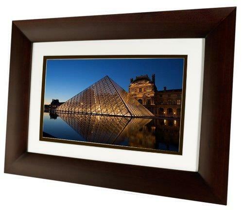 "HP 10.1"" DF1010V2 Widescreen LCD Digital Photo Frame w/NO remote"