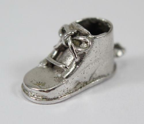 Silver Baby Shoe Charms Ebay