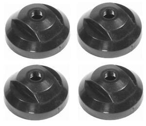 Set of 4 Mercruiser Alpha gen one Bravo 1-2-3 Trim Cylinder Ram end cap 19-14842