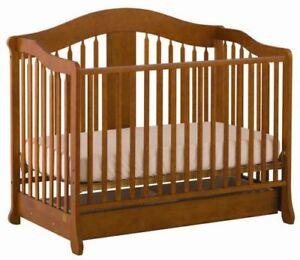 Crib,  mattress and linens for sale
