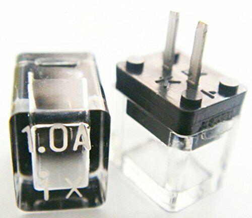 Daito DM10 Micro Fuse 125V 1A, Radial