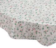 Oval Vinyl Tablecloth