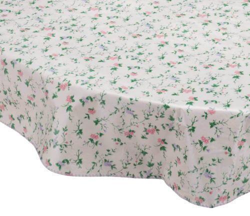 Oval Vinyl Tablecloth Ebay