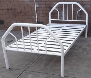 solid metal king single bed frame no mattress Glen Waverley Monash Area Preview